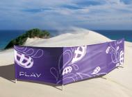 Parawany plażowe drukujemy na dwóch rodzajach dzianiny oliestrowej. Standardowe wymiary […]