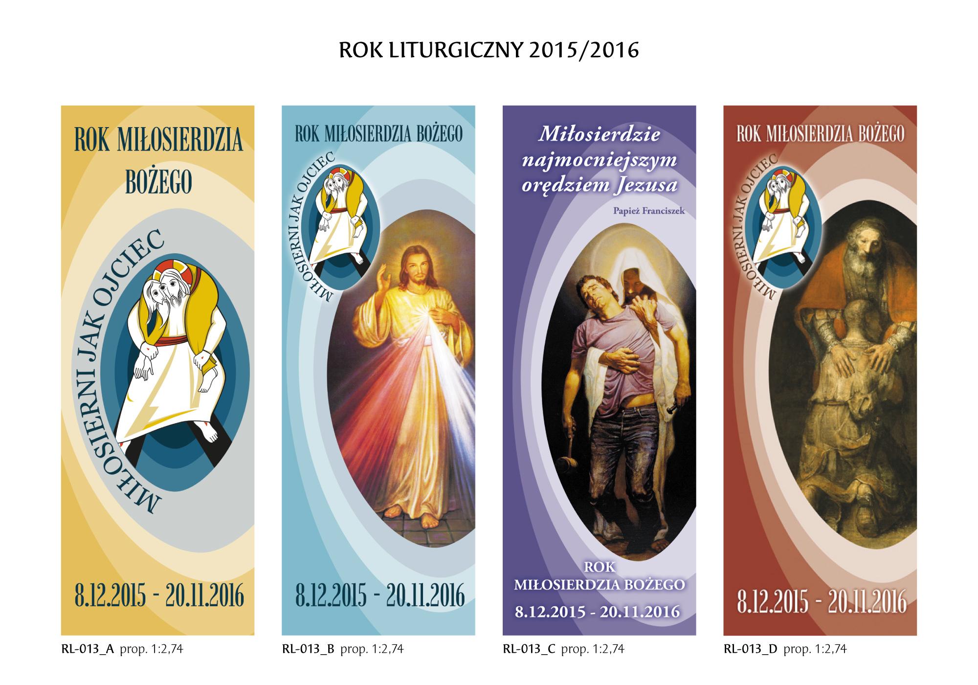 Banery na Rok Liturgiczn