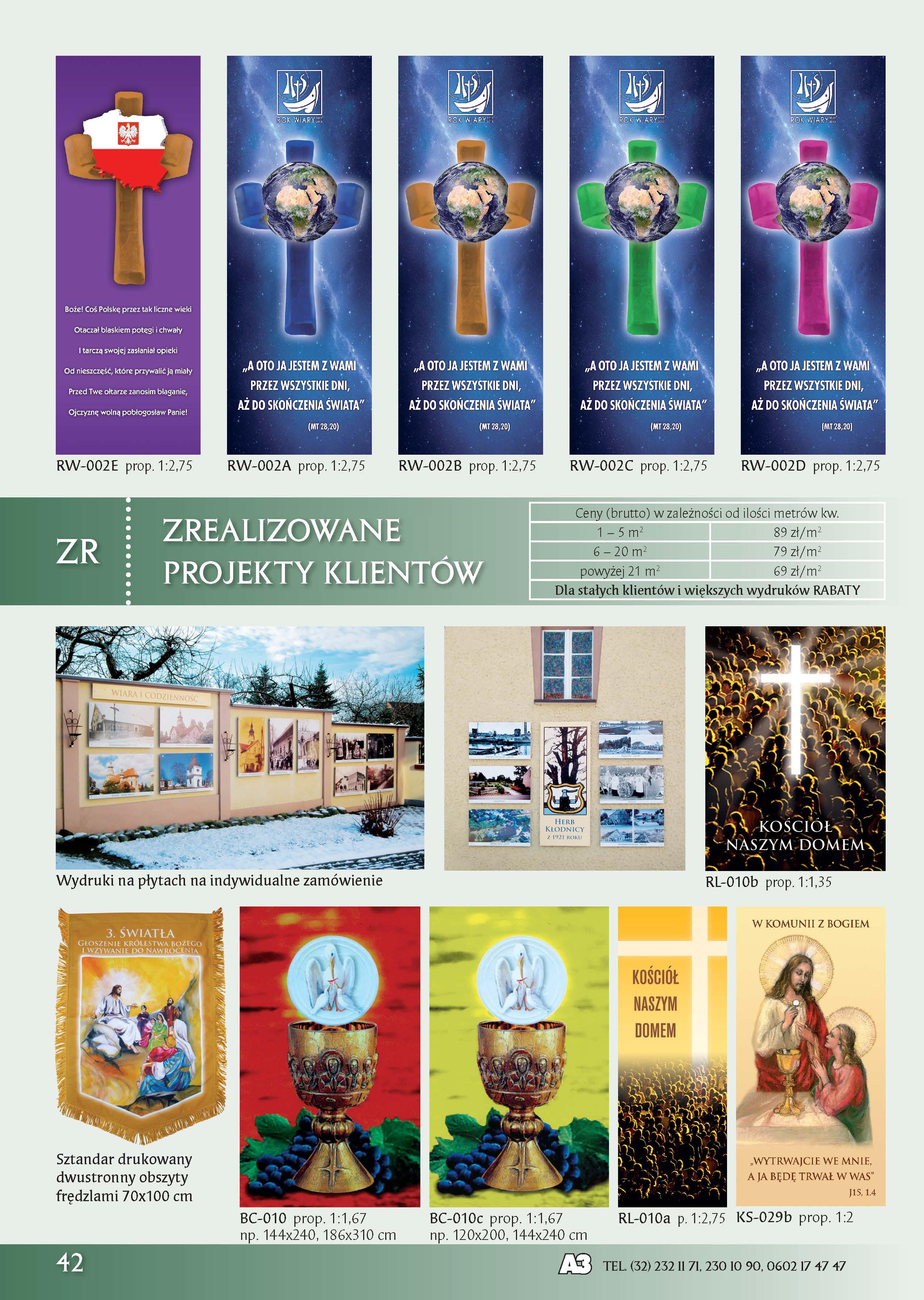 Obrazy i Obrazki Religijne, Grafika Liturgiczna
