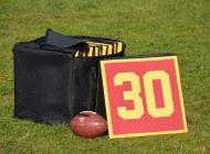 Zestaw znaczników linii yardów do futbolu amerykańskiego o wym. 50×50 […]