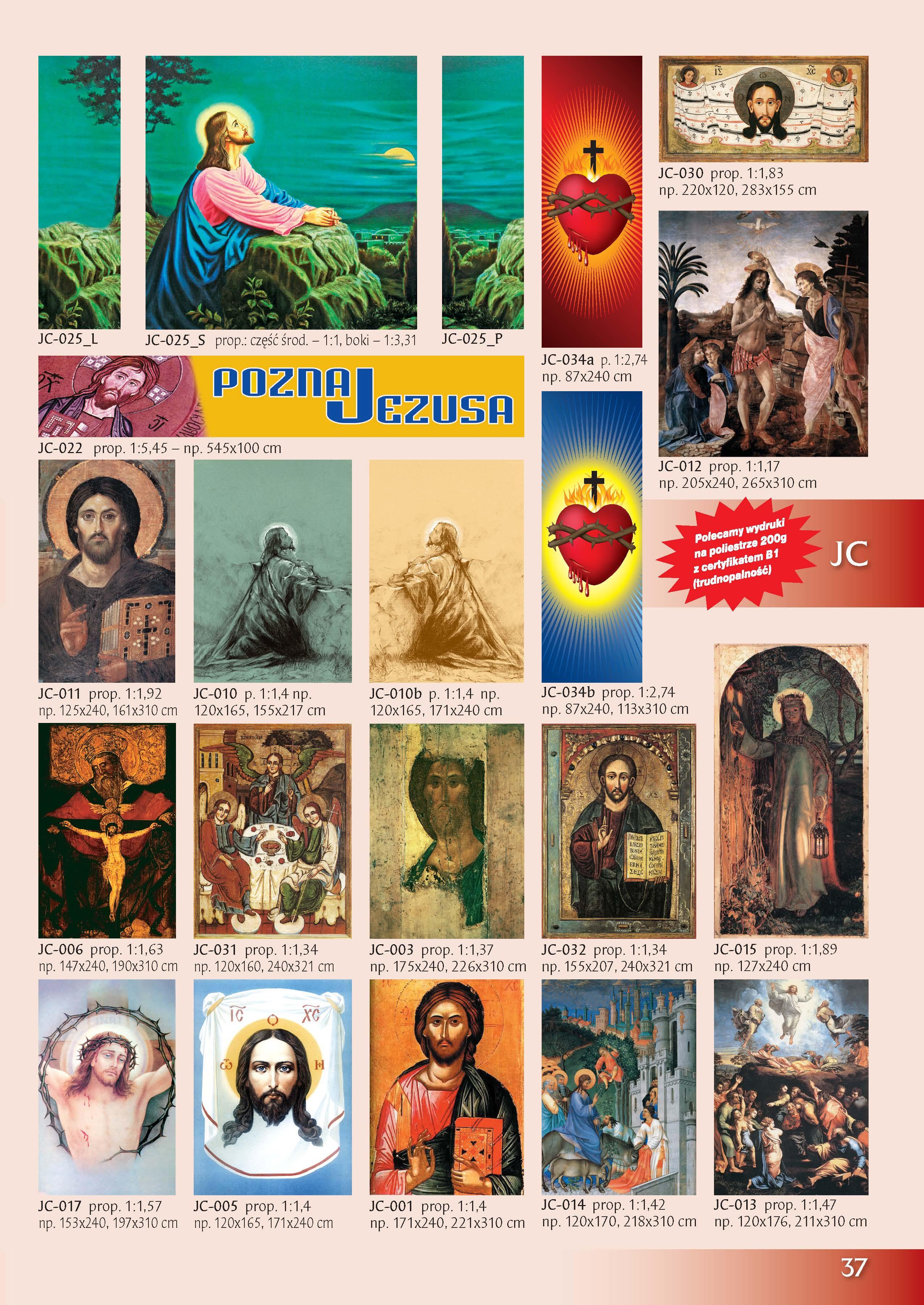 Obrazy z Jezusem Chrystusem