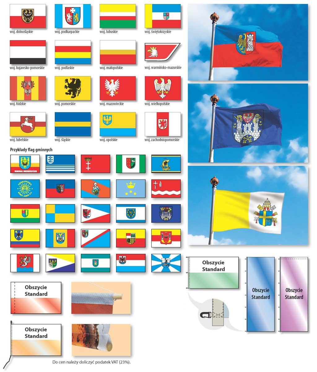 flagi gminne