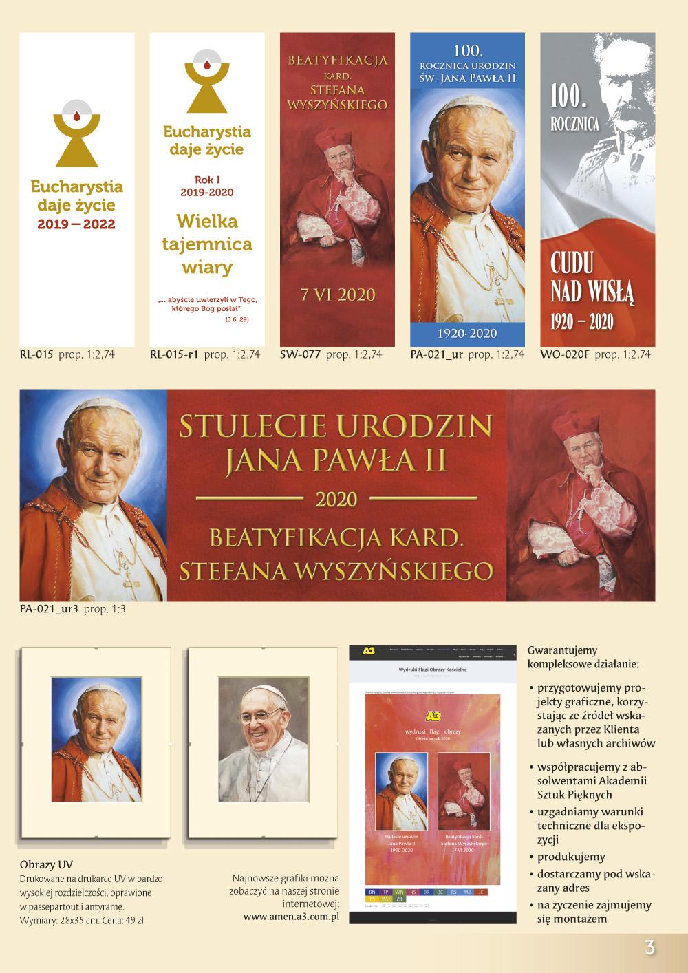 Katalog Grafik Religijnych 2020 - Stulecie Urodzin Jana Pawła II
