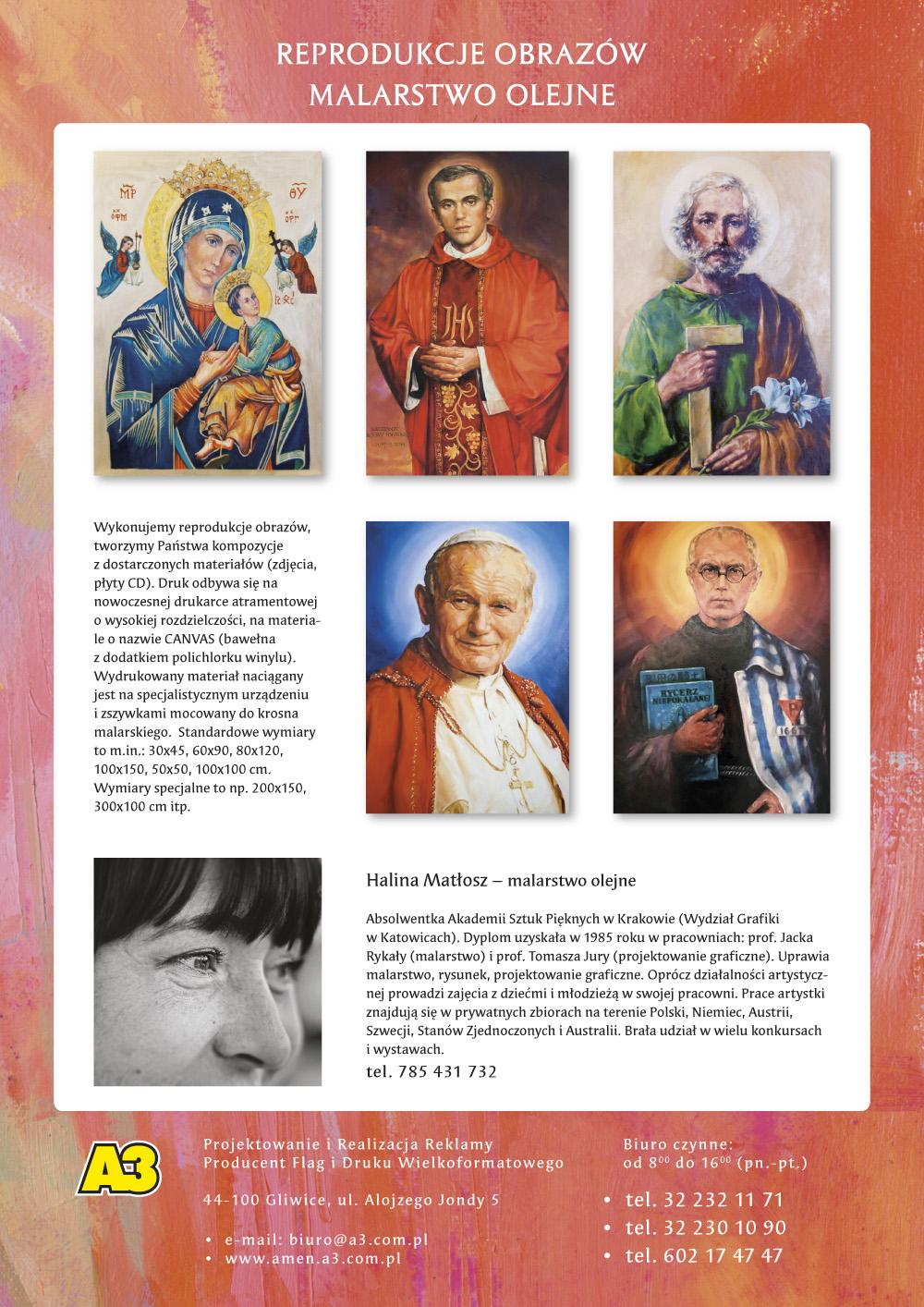 Katalog Grafik Religijnych 2020 - Reprodukcje Obrazów Religijnych